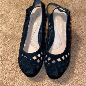 Robert Clergerie Pumps with Peep Toe